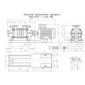 Pompa hydroforowa SKA 4.03 Hydro-Vacuum bez silnika