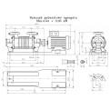 Pompa hydroforowa SKA 4.04 Hydro-Vacuum bez silnika